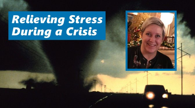 Relieving stress during a crisis