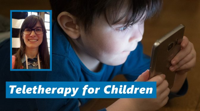 Teletherapy for children