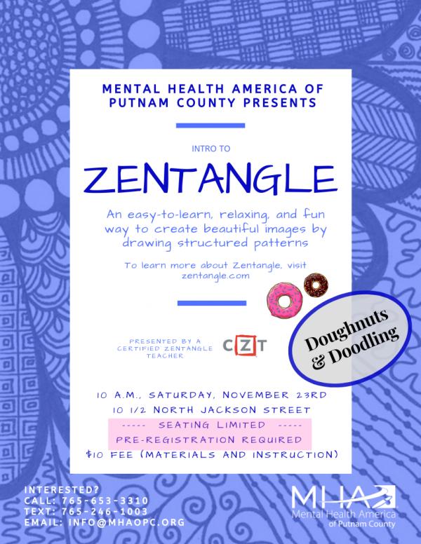 Zentangle Poster 11.23.2019